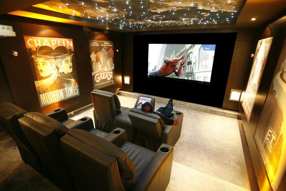 Calgary Home Cinema Personal Cinema Movie Screen